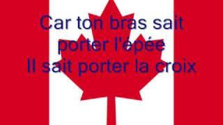 Hymne national du Canada en Français
