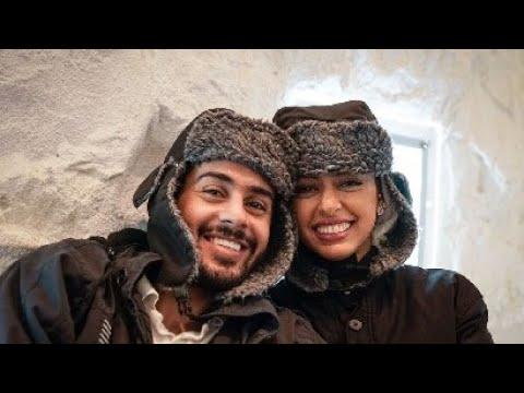 حسين بن محفوظ مع زوجته حنان Youtube