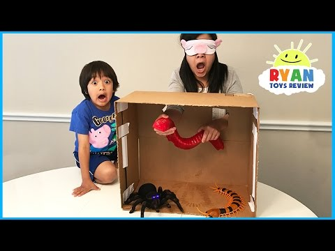 Thumbnail: What's in the Box Challenge Parent vs Kid with Ryan ToysReview