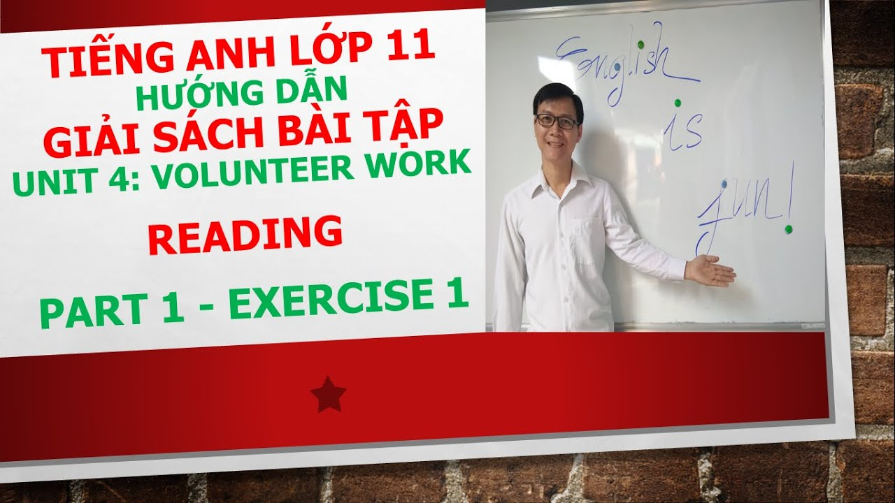 Tiếng Anh lớp 11 – Giải SBT – Unit 4 – Reading – Part 1 – Exercise 1