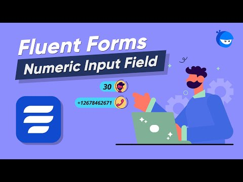 Add Numeric Input Field on your Online Form to Collect Numeric Data | WP Fluent Forms