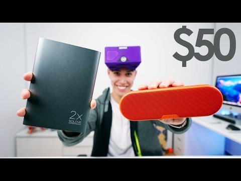 BEST TECH UNDER $50 - December 2016 Holiday Gift Guide + GIVEAWAY