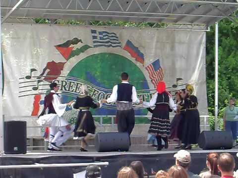 Greek American Folk Dance Society - LR Greek Festival 09 - 08