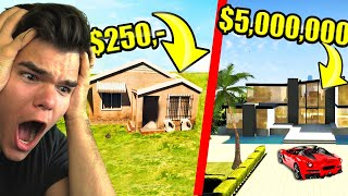 CHEAPEST vs. Most EXPENSIVE House In GTA 5