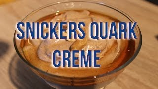 Snickers Quark Creme