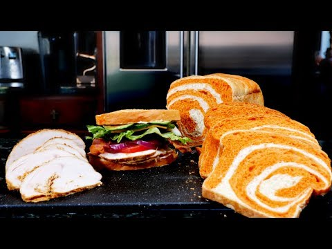 deli-turkey-meat-and-artisan-bread-made-from-scratch-start-to-finish