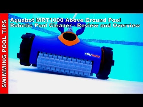 Aqaubot MRT AG 1000 Above Ground Pool Robotic Cleaner, Filters Down to 2 Microns - 2 Year Warranty!