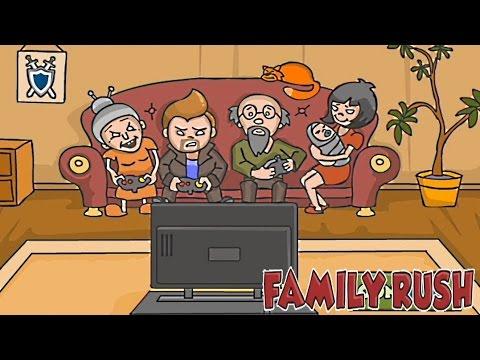 Мультик игра- стрелялки для детей - Семья против зомби #3