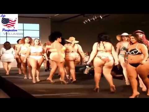Plus sizess ladys fashion shows catwalk , plus size dresses every size