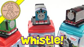 Thomas Train Whistle Candy Dispenser, Hiro & Percy Stop By!