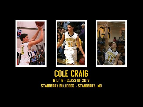 Cole Craig Buries Back-To-Back Threes || Stanberry Basketball