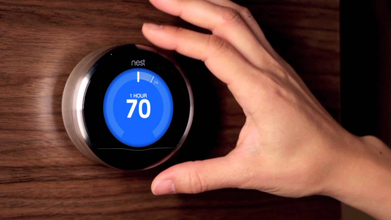 Meet nest learning thermostat youtube - Nest thermostat stylish home temperature control ...