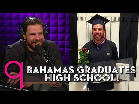 Bahamas finally graduates high school!