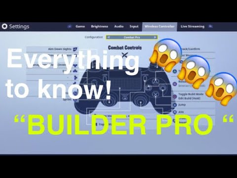 "NEW FORTNITE BUTTON LAYOUT *BUILDER PRO"" Fortnite Battle Royale"