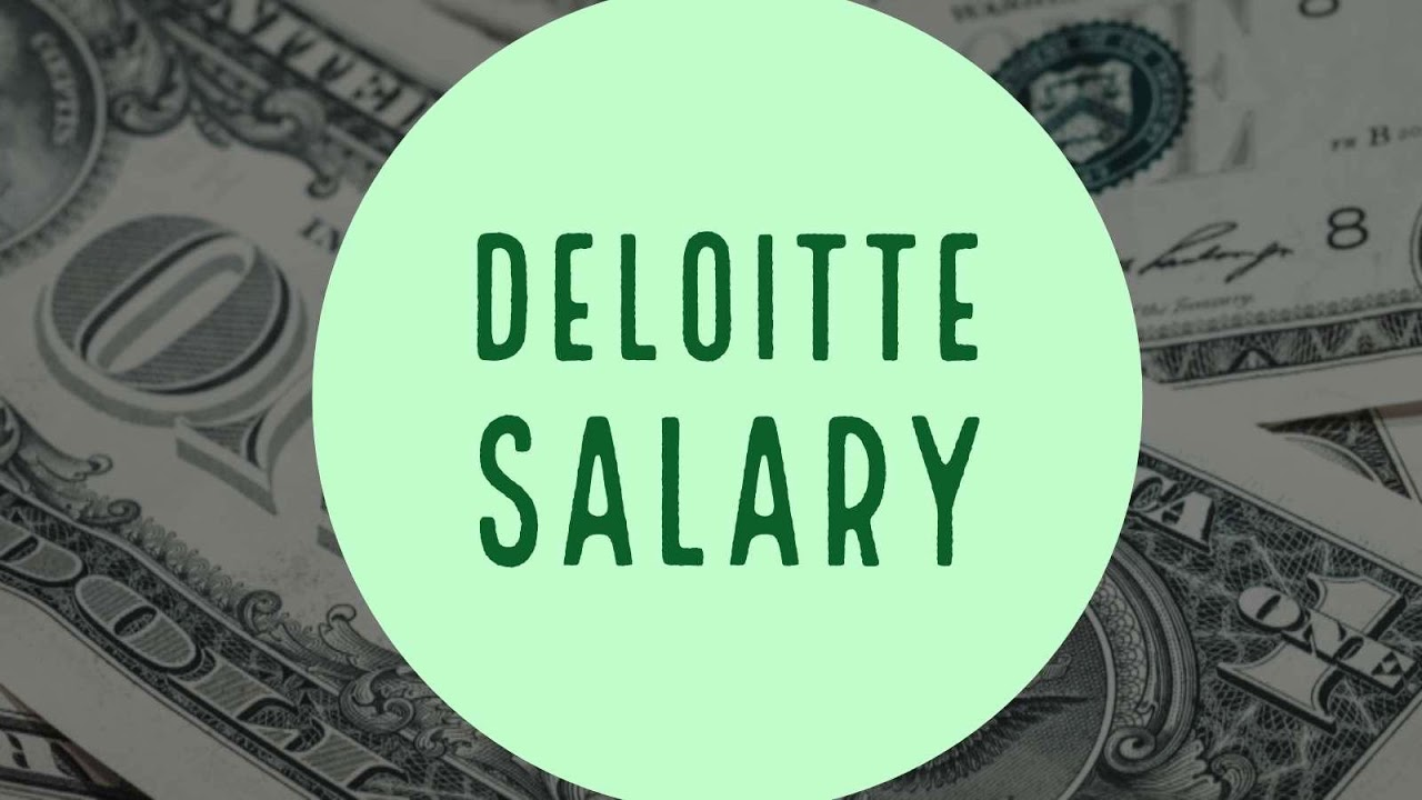 Deloitte consulting manager salary