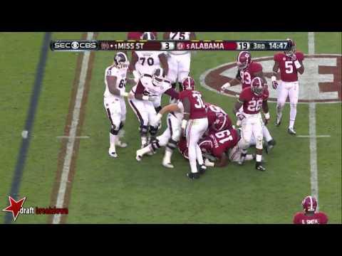 Landon Collins (Alabama Safety) vs Mississippi State 2014
