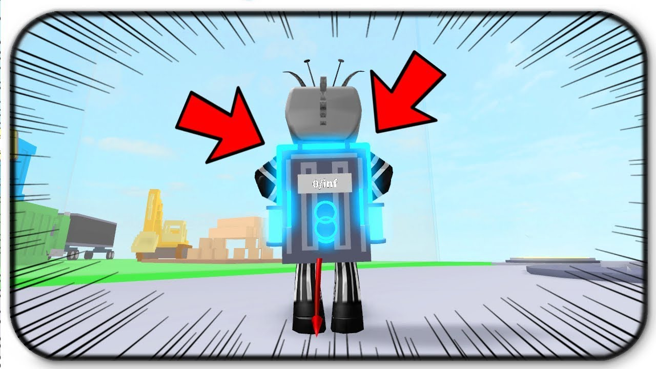 The Infinite Backpack Is Overpowered - Roblox Destruction ...