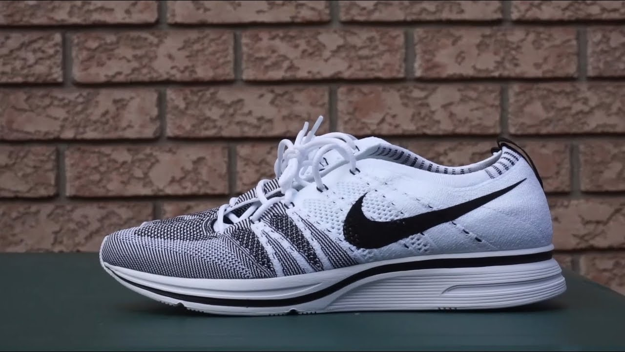 b4c281299bfc 2017 Nike Flyknit Trainer (Black White)  Review   On Foot - YouTube