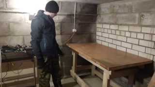 Верстак в мастерскую своими руками(, 2015-04-01T19:43:07.000Z)
