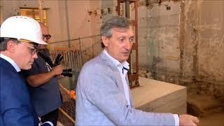 Restos de la única mezquita mudéjar hallada en España
