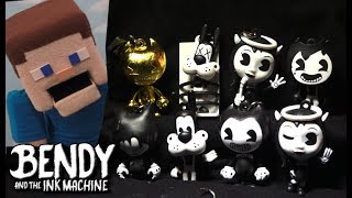 Download Bendy and the Ink Machine Collector Clips BATIM Keychains Series 1 Unboxing Blind Bag Golden Mp3 and Videos