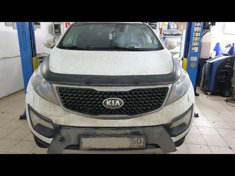 Kia Sportage ошибка ABS C1210 Whell Speed Sensor Rear-rh Range / Performance / Intermittent