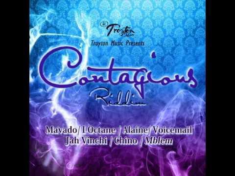 CONTAGIOUS RIDDIM MIXX BY DJ-M.o.M MAVADO, ALAINE, JAH VINCI, I OCTANE, VOICEMAIL. CHINO & MBLEM