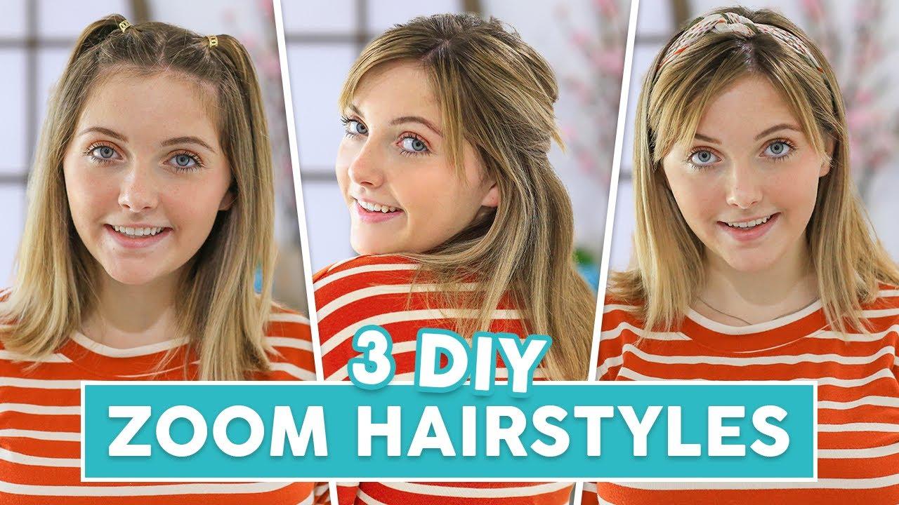 Rylan's 3 Easy DIY ZOOM Hairstyles | Cute Girls Hairstyles