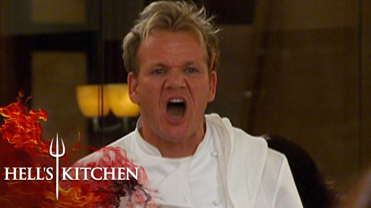 Gordon Ramsay Can T Take Overcooked Chicken Amp Throws It