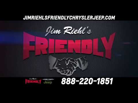 jim riehl 39 s friendly chrysler jeep current commercial youtube. Black Bedroom Furniture Sets. Home Design Ideas