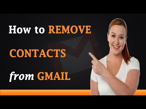 How To Remove Contacts From Gmail