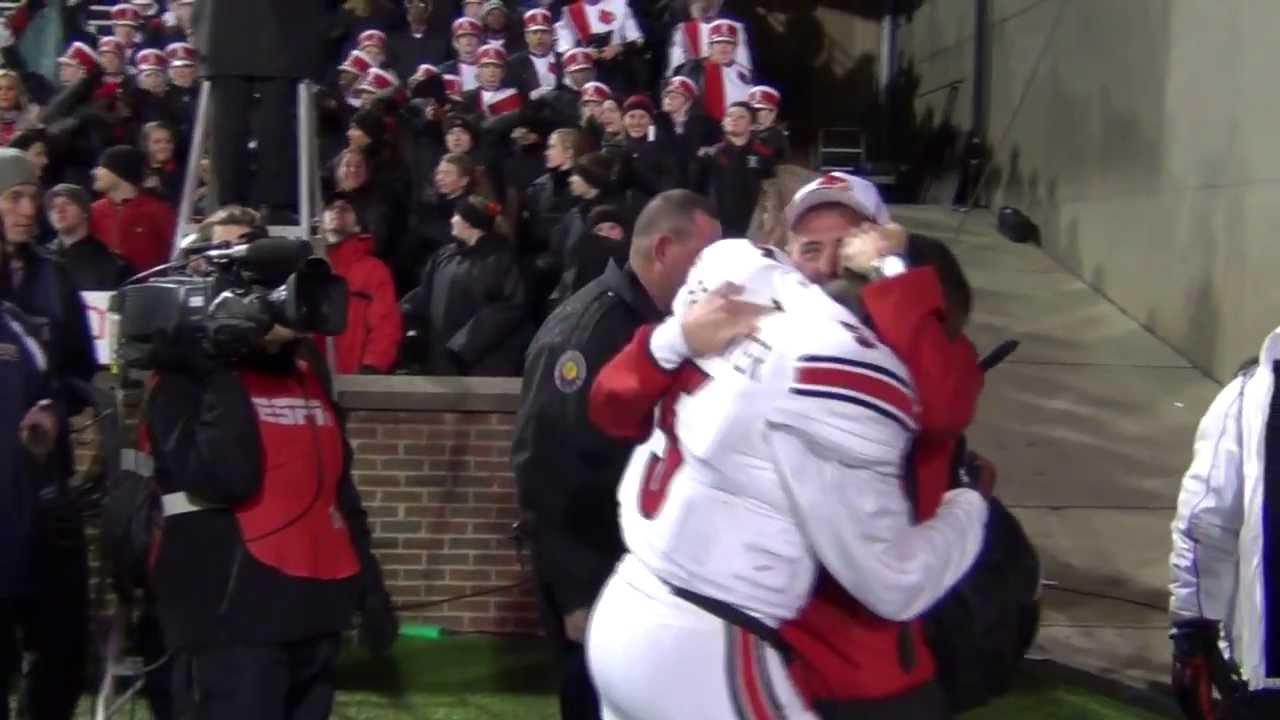 Teddy Bridgewater & Shawn Watson Embrace After Keg of Nails Overtime ...