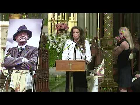 Cathy Maguire sings 'Only Her Rivers Run Free' at Martin Mc Guinness Memorial Mass in NYC.