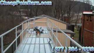 Cheap Pole Barn Industrial Commercial | Large Metal Buildings | Warehouse Buildings | Storage