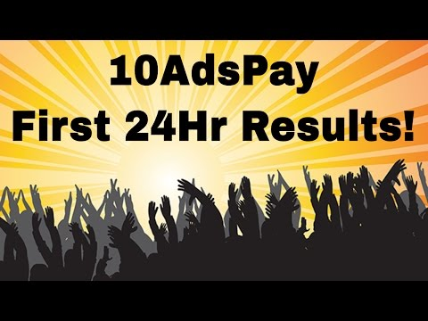 10AdsPay Review | Amazing Results In My First 24 Hours! (Must See!)