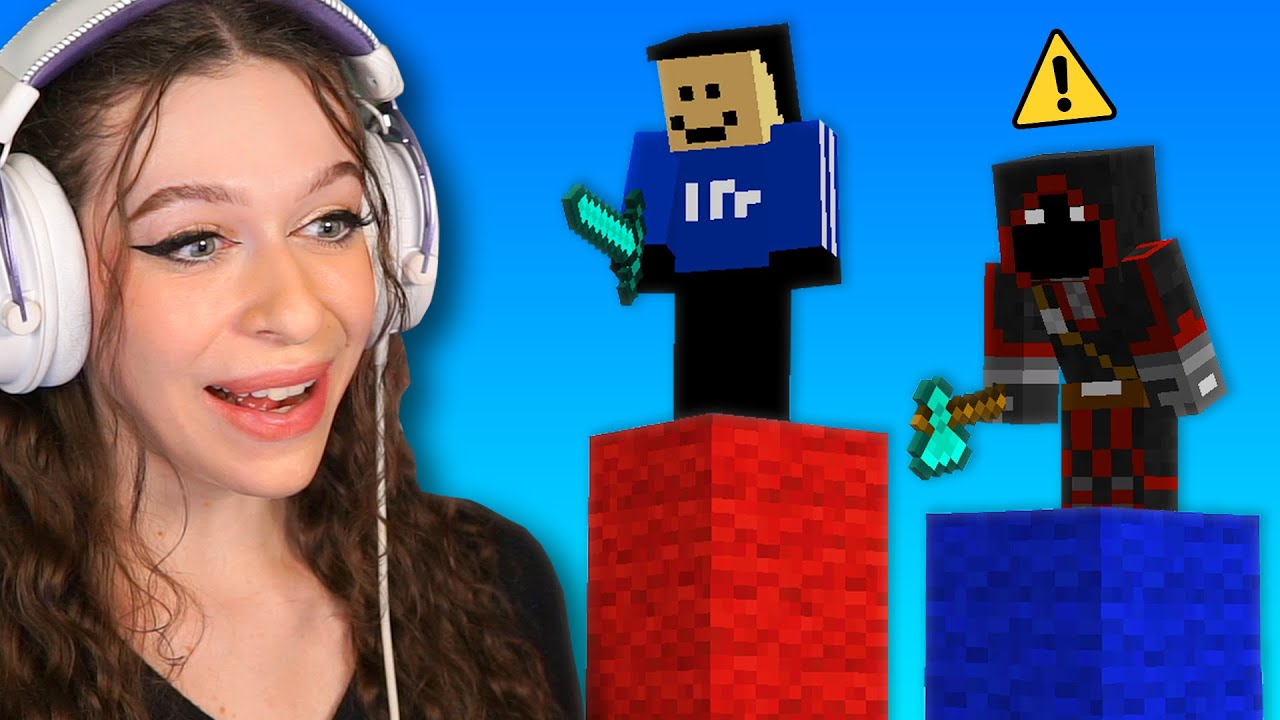 I Fought Quackity and BadBoyHalo in Minecraft Bedwars...