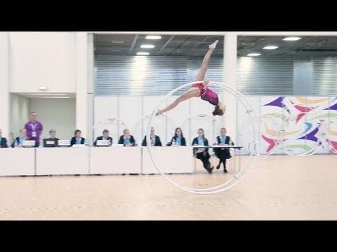 German Championships in Gymwheel 2017 Ida Glingerner 9th Place