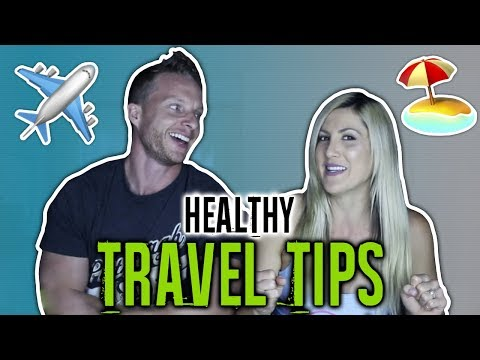 How To Stay Healthy When Traveling On A Holiday (EXERCISE AND FOOD TIPS)   LiveLeanTV