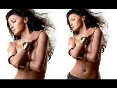 Sherlyn Chopra Topless Photoshoot