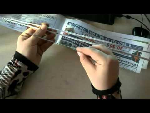 Плетение ажурной вазочки на ножке из газетных трубочек. урок 1.