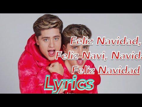 Martinez Twins - Feliz Navidad (Official Music Lyrics) Lyrics Video
