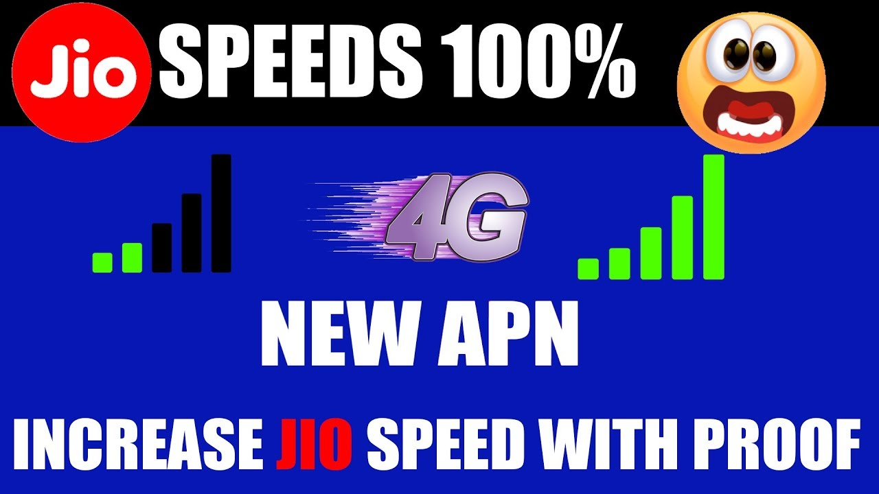 Jio APN settings for Android - Jio APN Settings