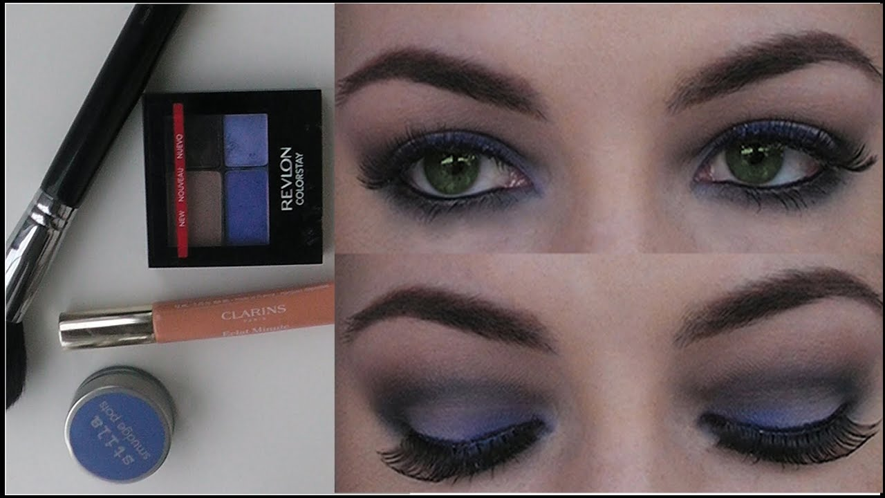 Nighttime defined eye tutorial revlon colorstay palette youtube ccuart Images