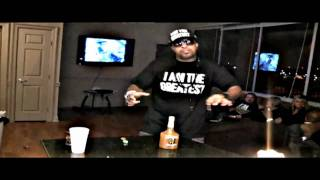 Lil flip - steady mobbin freestyle  (hd official video)