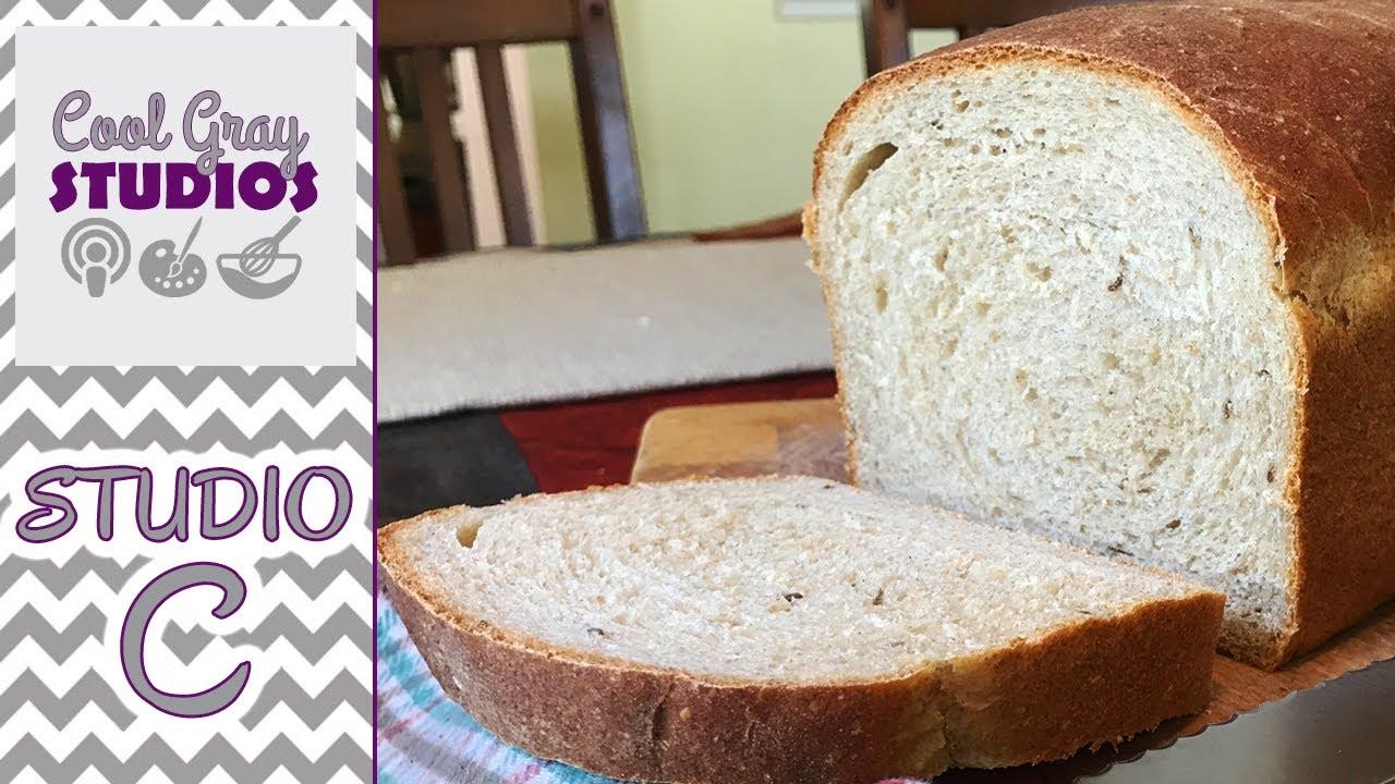 Homemade Buttermilk Rye Bread Recipe - YouTube