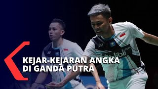 Indonesia Masters 2020, Kejar - Mengejar Angka di Ganda dan Tunggal Putra