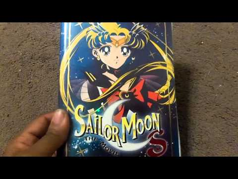 Sailor Moon The Movie Trilogy VHS Review
