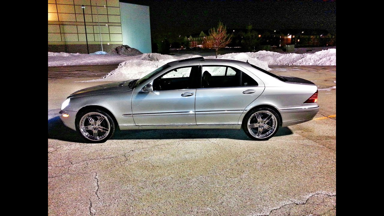 2000 Mercedes Benz S500 On 20 Quot Foose Rims Clipzui Com
