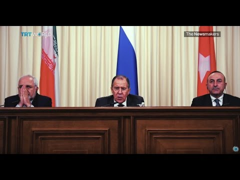 The Newsmakers: Syrian peace talks