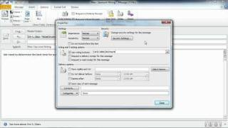 Total Training for Microsoft Outlook 2010 Ch2 L3. Setting Message Options